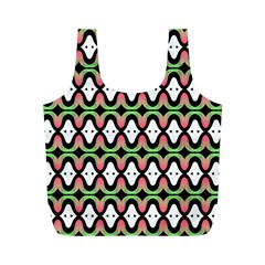 Abstract Pinocchio Journey Nose Booger Pattern Full Print Recycle Bags (M)