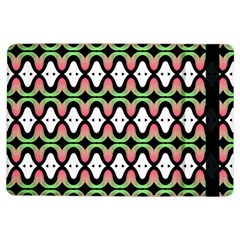 Abstract Pinocchio Journey Nose Booger Pattern iPad Air Flip