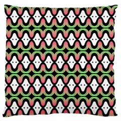 Abstract Pinocchio Journey Nose Booger Pattern Standard Flano Cushion Case (Two Sides)