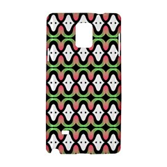 Abstract Pinocchio Journey Nose Booger Pattern Samsung Galaxy Note 4 Hardshell Case