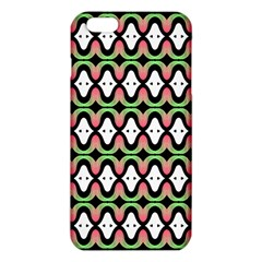 Abstract Pinocchio Journey Nose Booger Pattern iPhone 6 Plus/6S Plus TPU Case