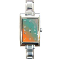 Abstract Elegant Background Pattern Rectangle Italian Charm Watch