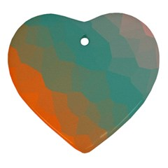 Abstract Elegant Background Pattern Ornament (Heart)