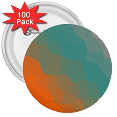 Abstract Elegant Background Pattern 3  Buttons (100 Pack)