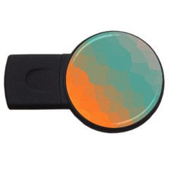 Abstract Elegant Background Pattern Usb Flash Drive Round (2 Gb)