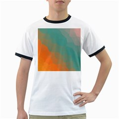 Abstract Elegant Background Pattern Ringer T Shirts