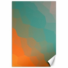 Abstract Elegant Background Pattern Canvas 24  X 36