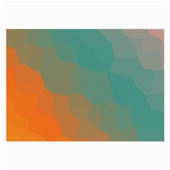 Abstract Elegant Background Pattern Large Glasses Cloth