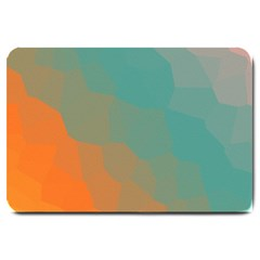 Abstract Elegant Background Pattern Large Doormat