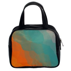Abstract Elegant Background Pattern Classic Handbags (2 Sides)