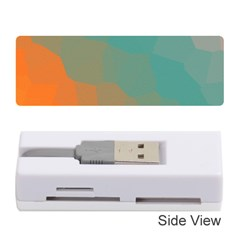 Abstract Elegant Background Pattern Memory Card Reader (stick)