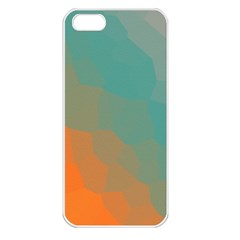 Abstract Elegant Background Pattern Apple iPhone 5 Seamless Case (White)