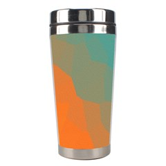 Abstract Elegant Background Pattern Stainless Steel Travel Tumblers