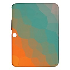 Abstract Elegant Background Pattern Samsung Galaxy Tab 3 (10 1 ) P5200 Hardshell Case