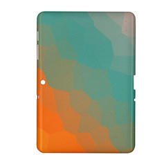 Abstract Elegant Background Pattern Samsung Galaxy Tab 2 (10.1 ) P5100 Hardshell Case