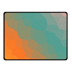 Abstract Elegant Background Pattern Double Sided Fleece Blanket (Small)