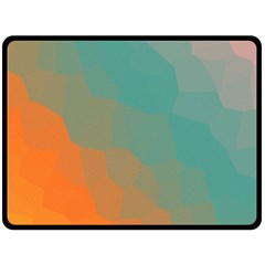 Abstract Elegant Background Pattern Double Sided Fleece Blanket (large)