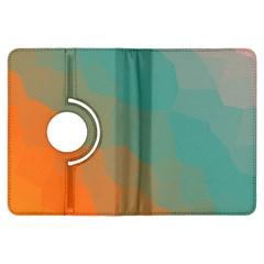 Abstract Elegant Background Pattern Kindle Fire HDX Flip 360 Case