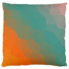 Abstract Elegant Background Pattern Large Flano Cushion Case (Two Sides)