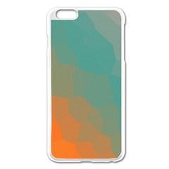 Abstract Elegant Background Pattern Apple iPhone 6 Plus/6S Plus Enamel White Case