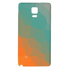 Abstract Elegant Background Pattern Galaxy Note 4 Back Case