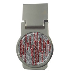 Abstract Geometry Machinery Wire Money Clips (Round)