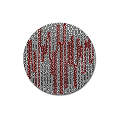 Abstract Geometry Machinery Wire Magnet 3  (round)