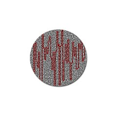Abstract Geometry Machinery Wire Golf Ball Marker