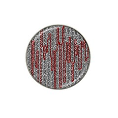 Abstract Geometry Machinery Wire Hat Clip Ball Marker (4 Pack)