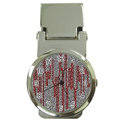 Abstract Geometry Machinery Wire Money Clip Watches