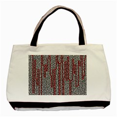 Abstract Geometry Machinery Wire Basic Tote Bag