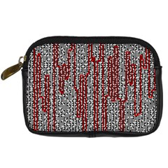 Abstract Geometry Machinery Wire Digital Camera Cases