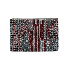 Abstract Geometry Machinery Wire Cosmetic Bag (medium)