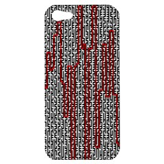 Abstract Geometry Machinery Wire Apple iPhone 5 Hardshell Case