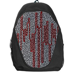 Abstract Geometry Machinery Wire Backpack Bag
