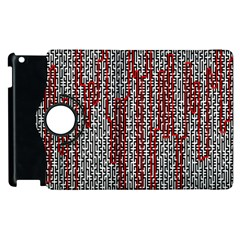 Abstract Geometry Machinery Wire Apple iPad 2 Flip 360 Case