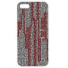 Abstract Geometry Machinery Wire Apple iPhone 5 Hardshell Case with Stand