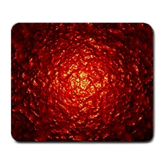 Abstract Red Lava Effect Large Mousepads