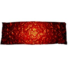 Abstract Red Lava Effect Body Pillow Case Dakimakura (two Sides)