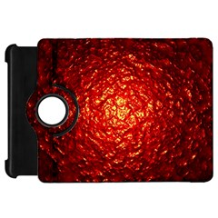 Abstract Red Lava Effect Kindle Fire HD 7