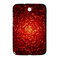 Abstract Red Lava Effect Samsung Galaxy Note 8.0 N5100 Hardshell Case