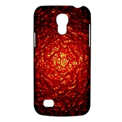 Abstract Red Lava Effect Galaxy S4 Mini