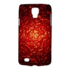 Abstract Red Lava Effect Galaxy S4 Active