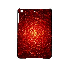 Abstract Red Lava Effect iPad Mini 2 Hardshell Cases