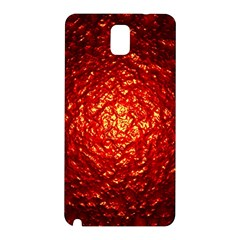 Abstract Red Lava Effect Samsung Galaxy Note 3 N9005 Hardshell Back Case