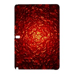 Abstract Red Lava Effect Samsung Galaxy Tab Pro 12.2 Hardshell Case