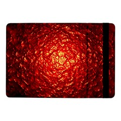 Abstract Red Lava Effect Samsung Galaxy Tab Pro 10.1  Flip Case