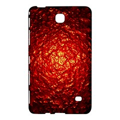 Abstract Red Lava Effect Samsung Galaxy Tab 4 (7 ) Hardshell Case