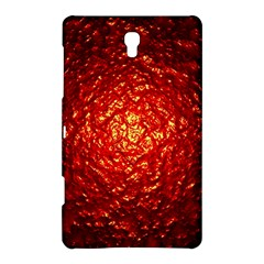 Abstract Red Lava Effect Samsung Galaxy Tab S (8 4 ) Hardshell Case