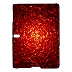 Abstract Red Lava Effect Samsung Galaxy Tab S (10 5 ) Hardshell Case